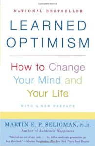 Photo of book covef for Learned Optimism by Martin Seligman, Ph.D.