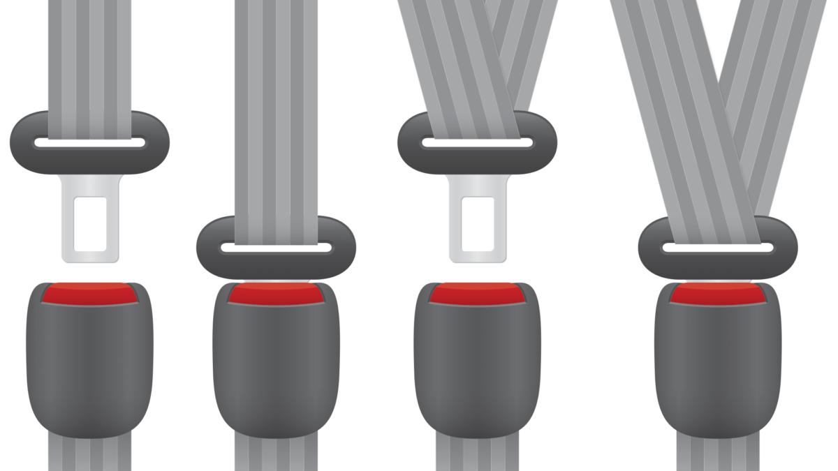 seat belt illustration