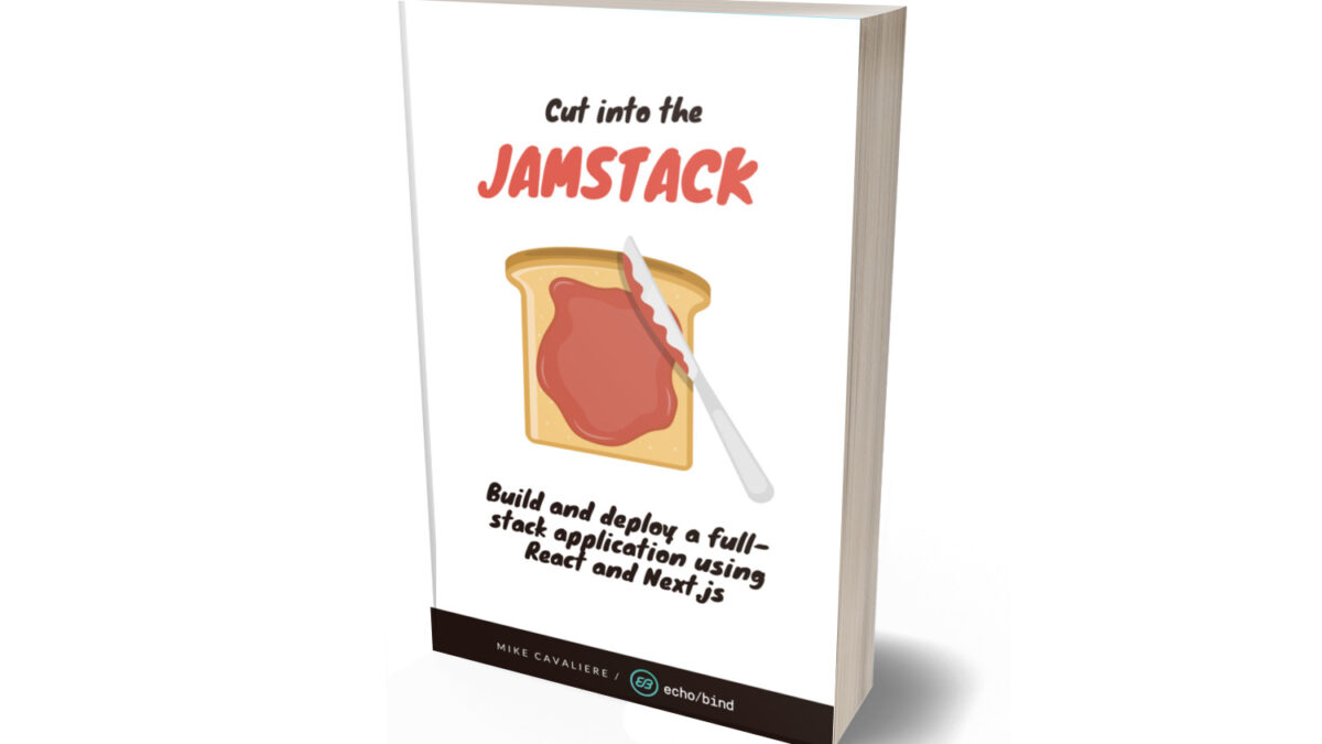 Cut Into The Jamstack book cover
